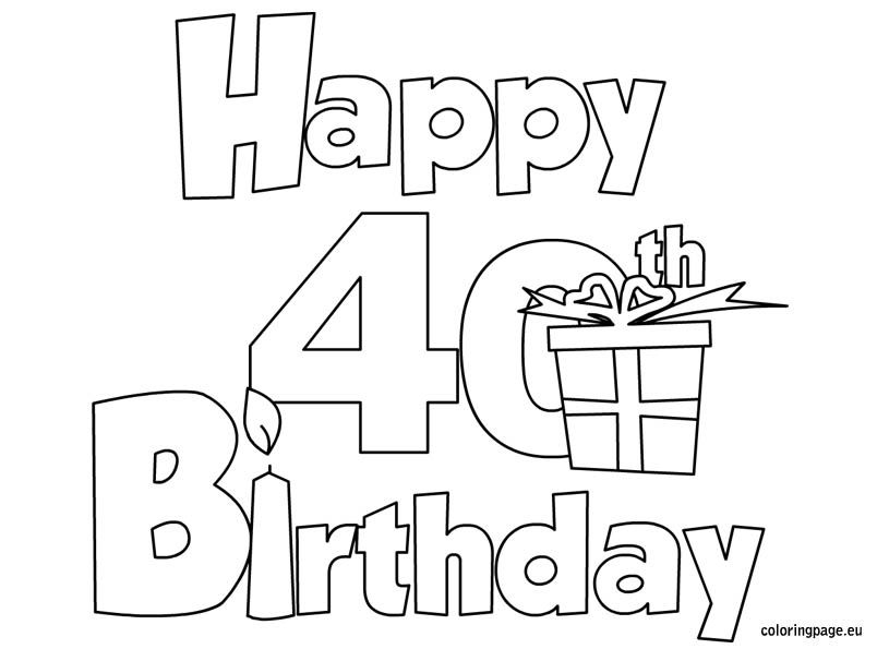 happy  birthday coloring page  birthday  pinterest