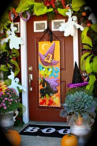 Halloween Front Porch Decorations, from Lisa Frost Studio ...
