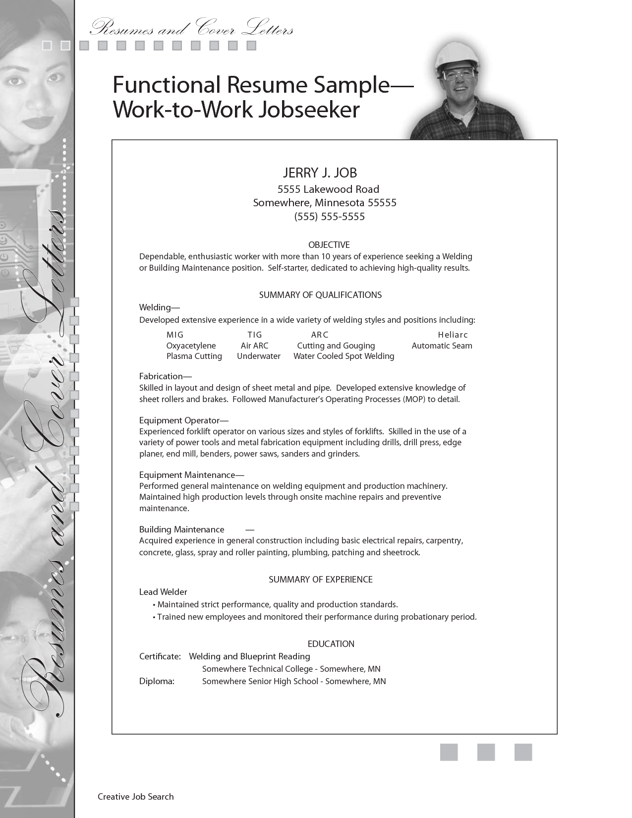 Building Maintenance Engineer Resume Sample Sample Resume For Welding Position Sample Building