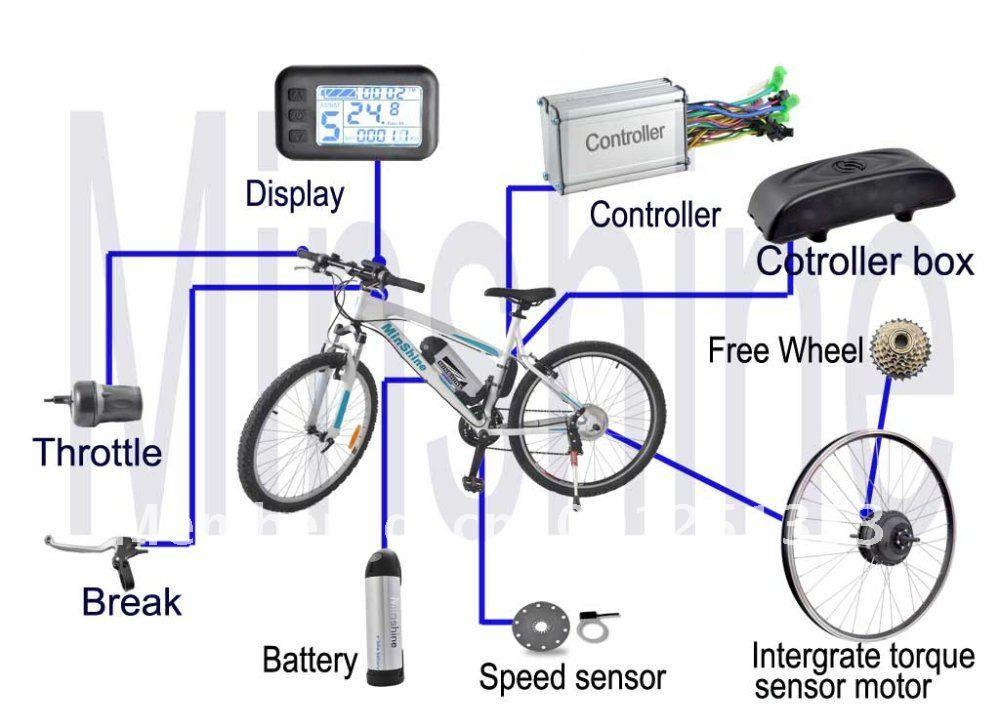 electric bike battery wiring diagram