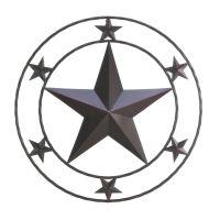 Rustic Metal Texas Star Western Wall Decor   Home Decor ...