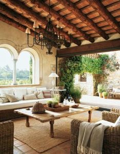 Indoor outdoor th century house in catalonia spain this is also rh pinterest