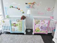 Twins Nursery, boy & girl. | Nursery | Pinterest | Twin ...