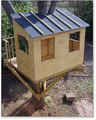 Kauri Tree House Plans Treehouse Guides Kids Pinterest