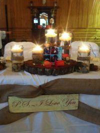 Country Wedding Sweetheart Table Setting | Weddings by ...