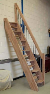 alternating stair treads design - Google Search | Stairs ...