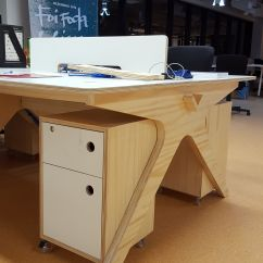 Desk Chair Leans Forward Drop Leaf Table With Storage Lean Brazil Desks And Cnc