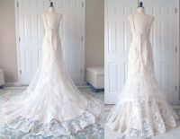 Show me your bustle for lace dresses! - Weddingbee ...