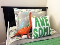 Dinosaur bedding inspiration for little boy's room! | For ...