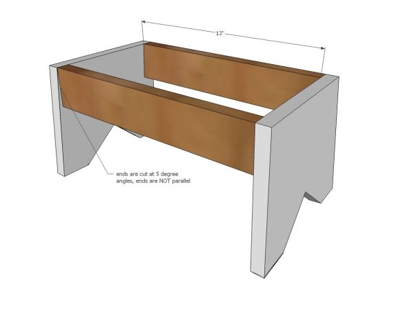 Simple Wooden Step Stool Plans