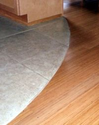 Curved Carpet Transition Strips