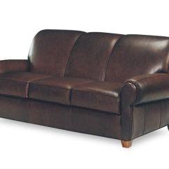 Leathercraft Sofa Tan Leather Dfs 1040 Blayne Furniture