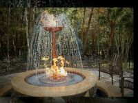 outdoor fire pits with water | Fire Pit and Outdoor Water ...