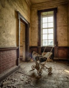 Inside an abandoned farm house wow beautiful space that would be also rh pinterest