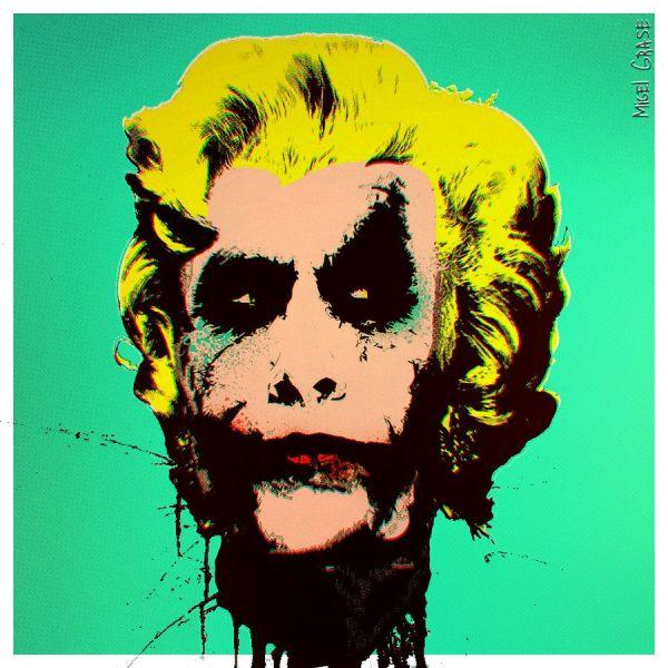 Madness Gravity - -joker Fan Art Arkham Asylum Joker And