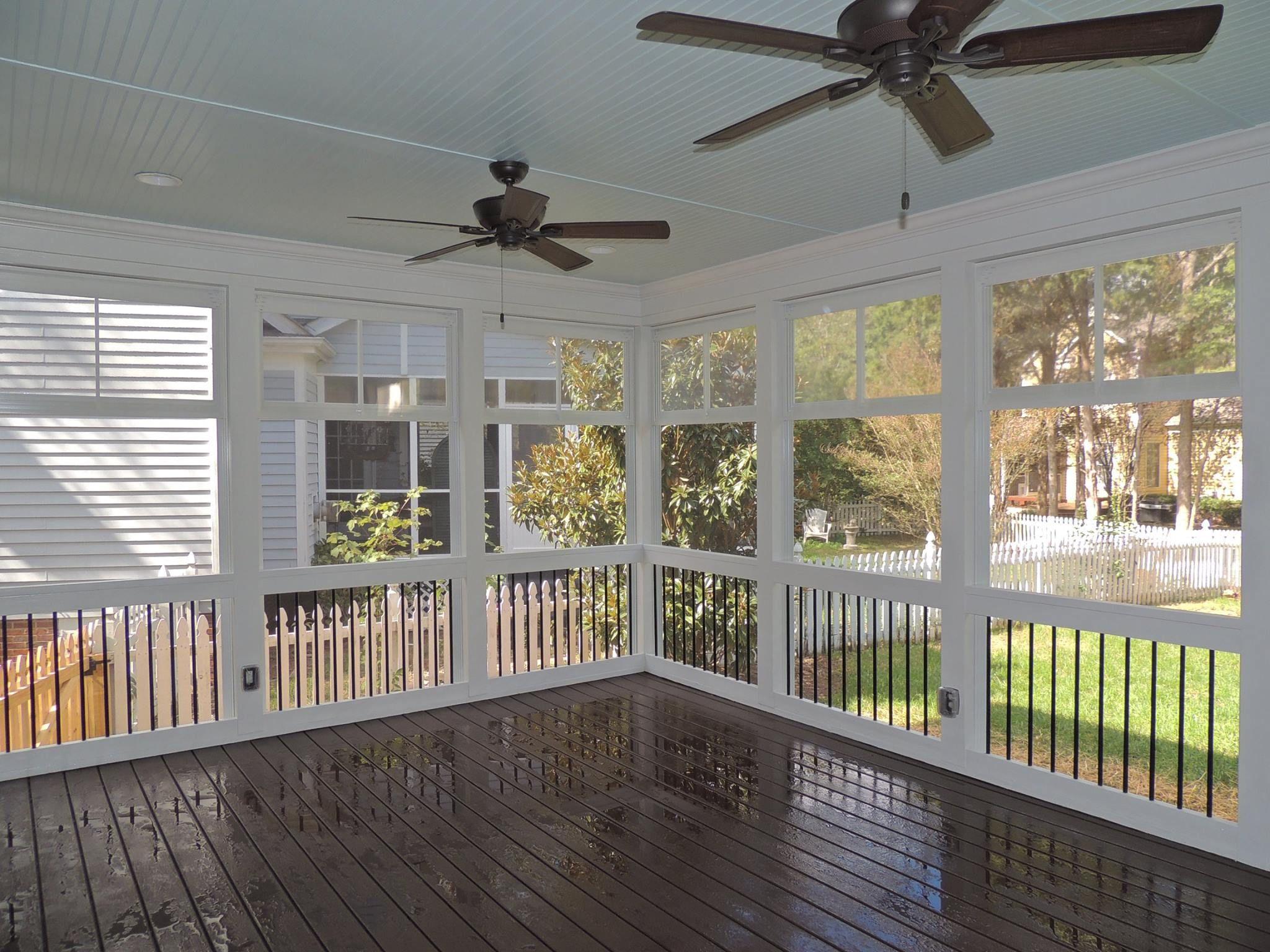 Half Screened Porch Ideas