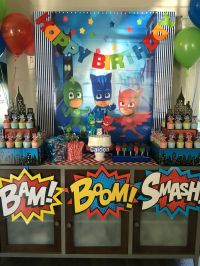 PJ Masks Party DIY | Party Ideas | Pinterest | Pj mask ...