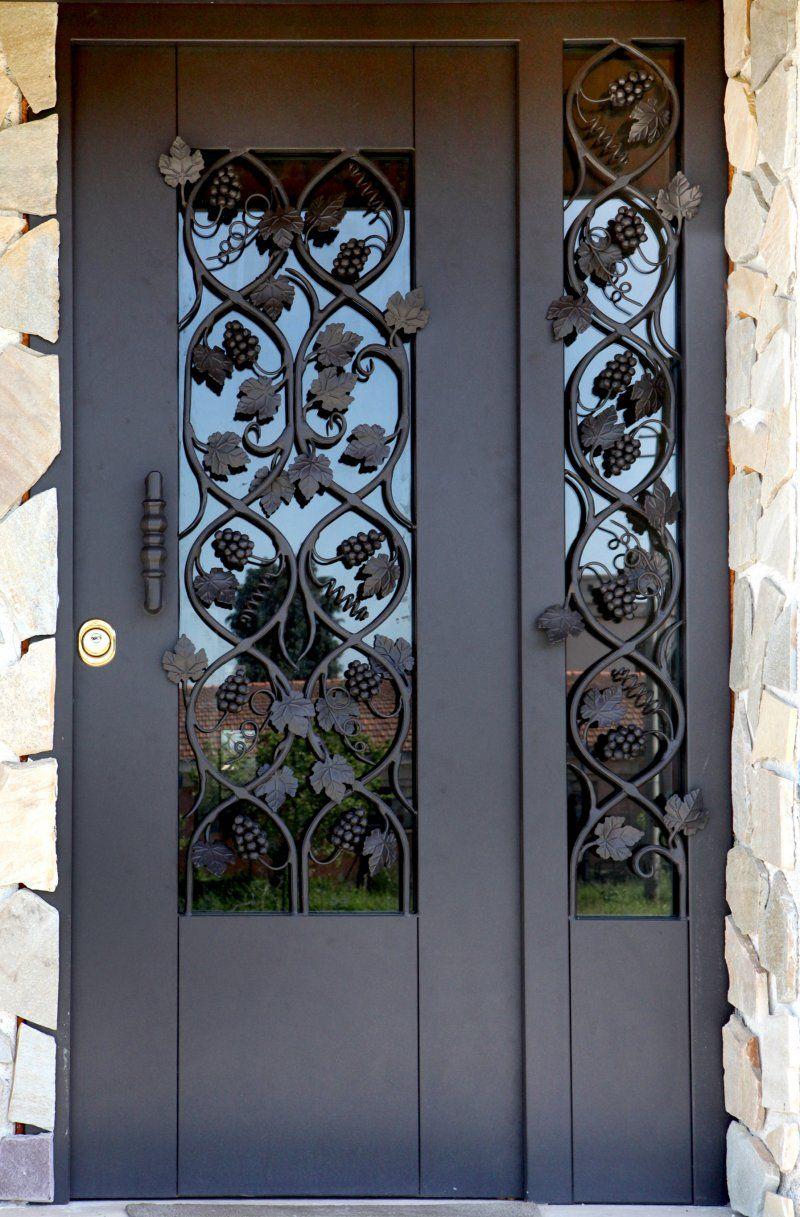 porte da esterno in legno con vetro  Cerca con Google