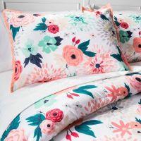 Multi Floral Printed Comforter Set - Multicolor ...