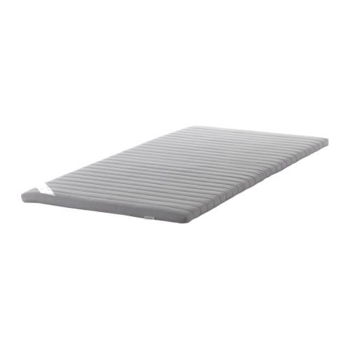 Ikea Sultan TÅrsta Mattress Pad Cm Foam Filling Provides A Soft Surface Roll Packed Easy To Take Home