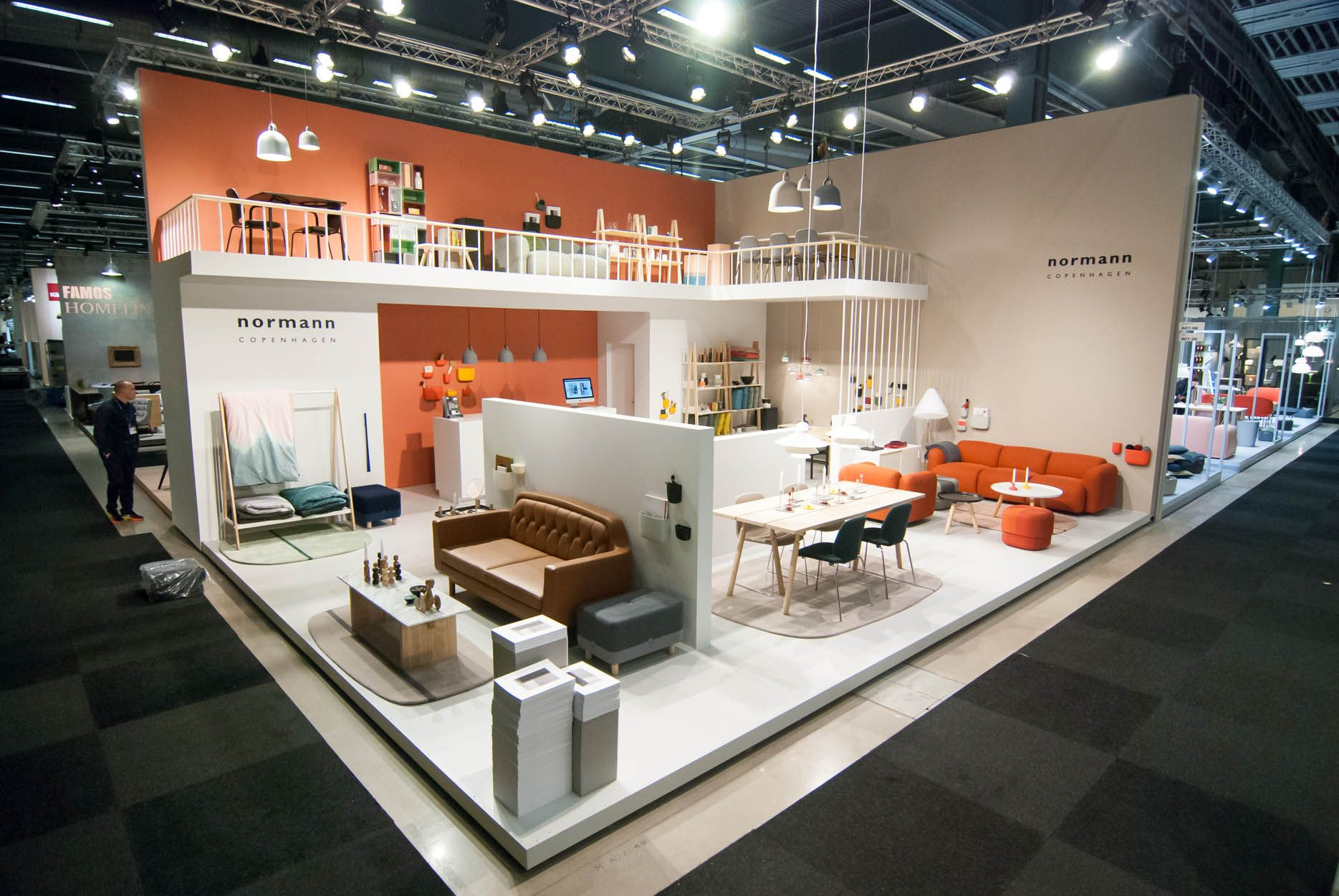 Furniture Exhibition Booth Design
