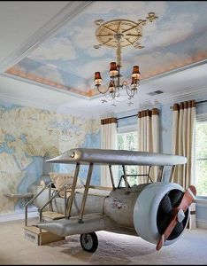Decorating theme bedrooms maries manor airplane bedroom aviation themed ideas also rh pinterest