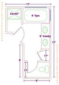 master bathroom blueprint | ... Master Bedroom Layout ...