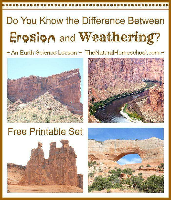 Weathering Vs Erosion FREE Lesson Pack For Kids