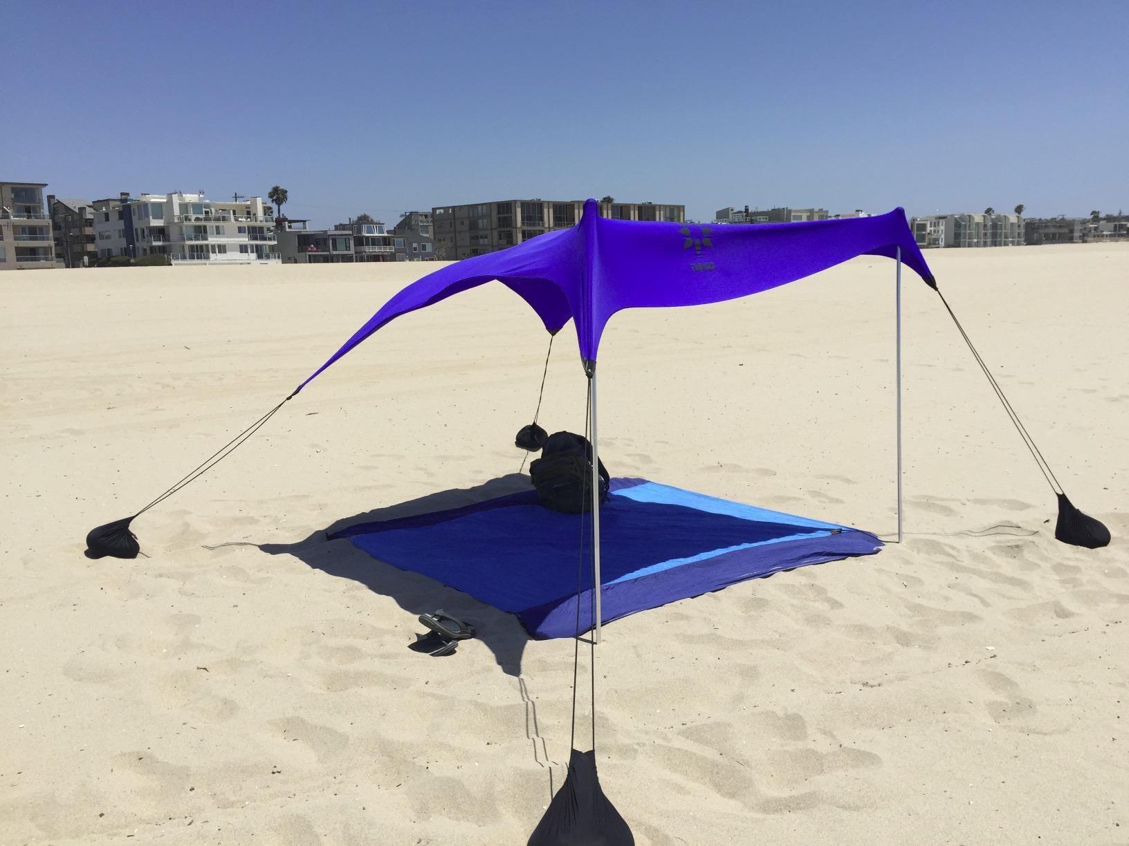 Amazon.com: Beach Tent with Sand Anchor, Portable Canopy