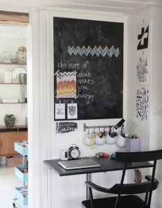 Check out chalkboard paint home office ideas to transform your was relegated the walls of kids  playroom and kitchen also  bcea ae  ecb     pixels rh pinterest