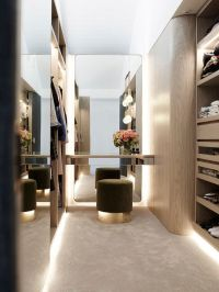 walk in closet details and inspiration - with lighting ...