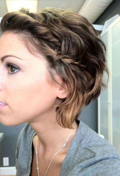 20 Wunderschöne Hochsteckfrisur Frisuren Für Kurzes Haar