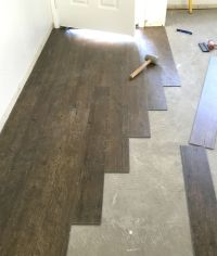 Vinyl Plank Flooring Prep and Installation   Build it with ...