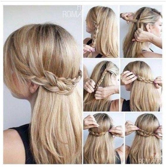 10 Half Up Braid Hairstyles Ideas Crown Braids Half And
