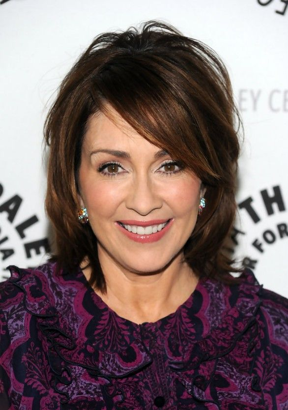Patricia Heaton Short Bob Hairstyle For Women Over 50s Bobs For