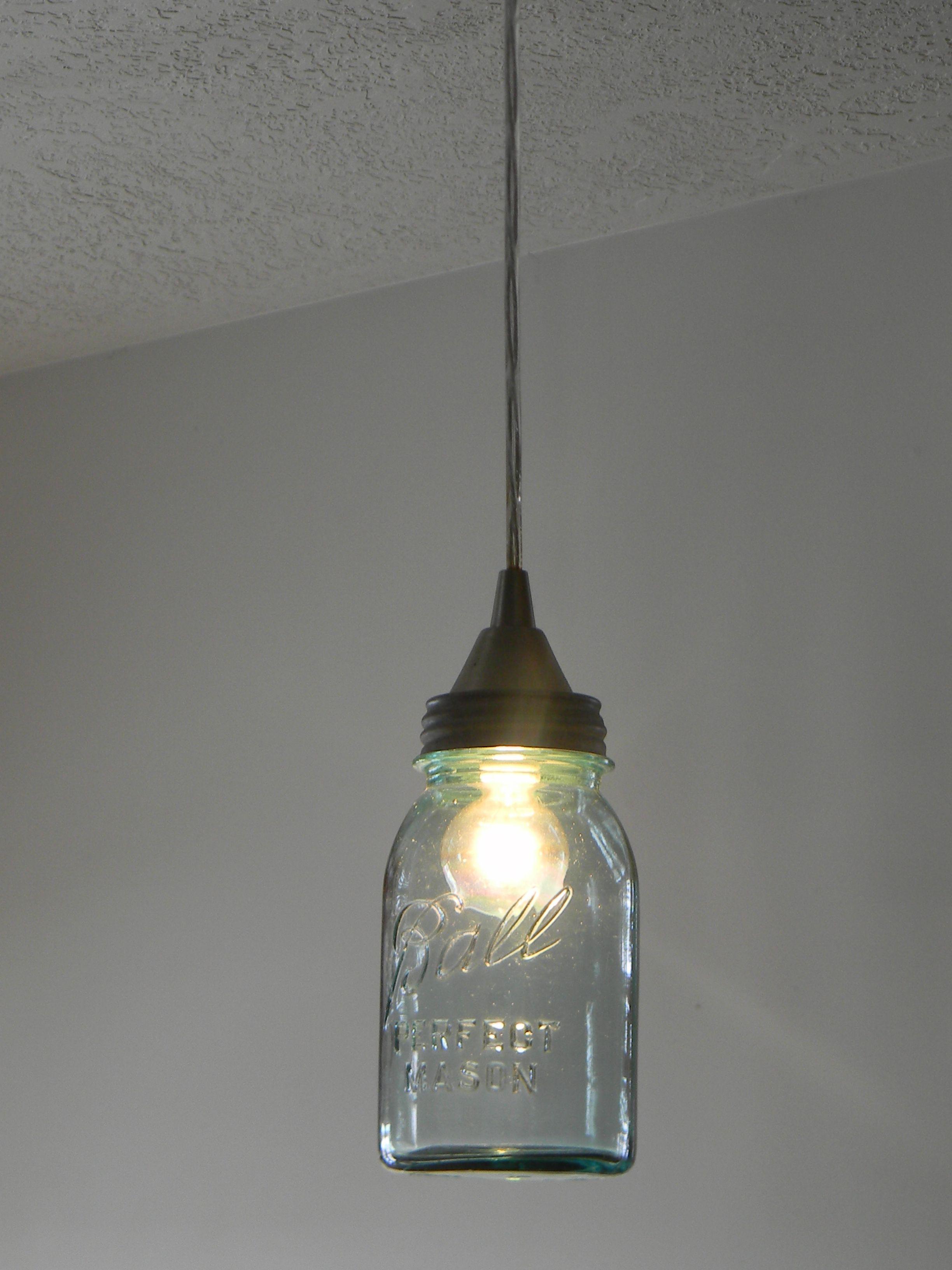 How To Create Mason Jar Lighting Fixtures