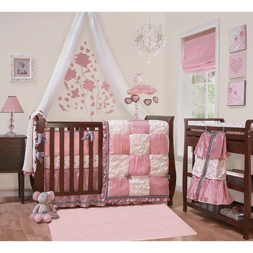 "bella 6 piece bed set - peanut shell - babies ""r"" us | parker"