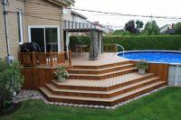Creative Ideas in Making Backyard Patio Deck | Hominic.com ...