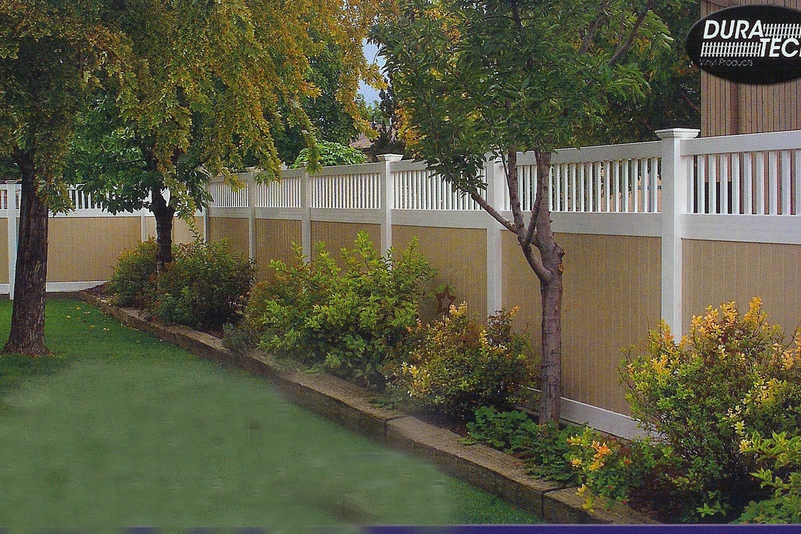 Landscaping With Fences Google Search Gardens Pinterest