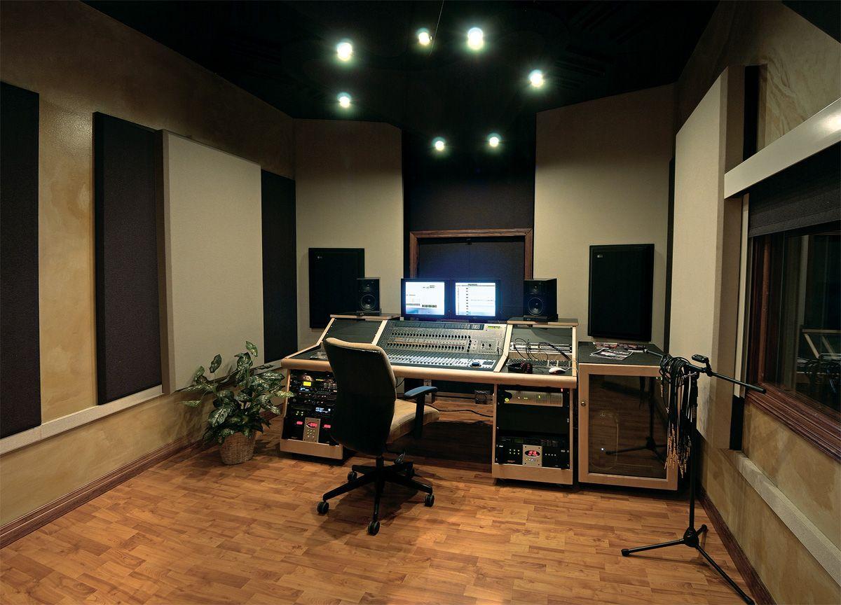 interior design home recording studio