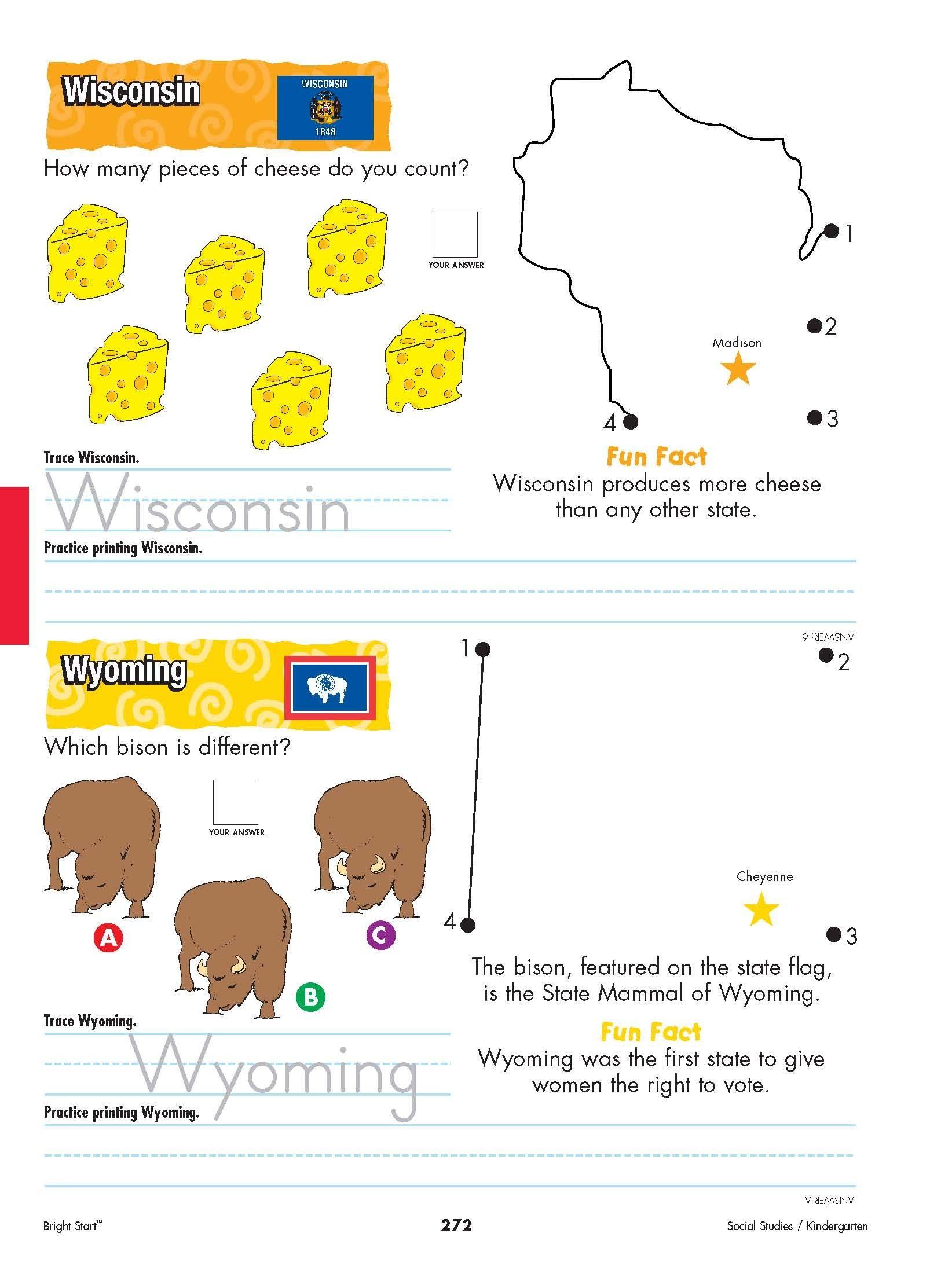 Worksheet Ohio Geography