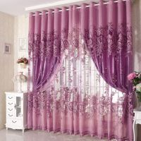 16 Excellent Purple Bedroom Curtains Design Ideas