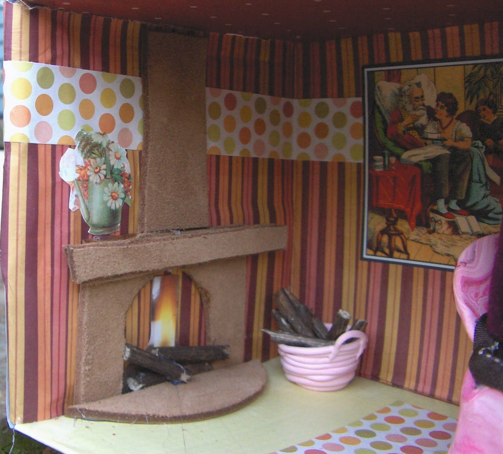 Tales From A Happy House A Shoebox Kitchen For A Little Mouse