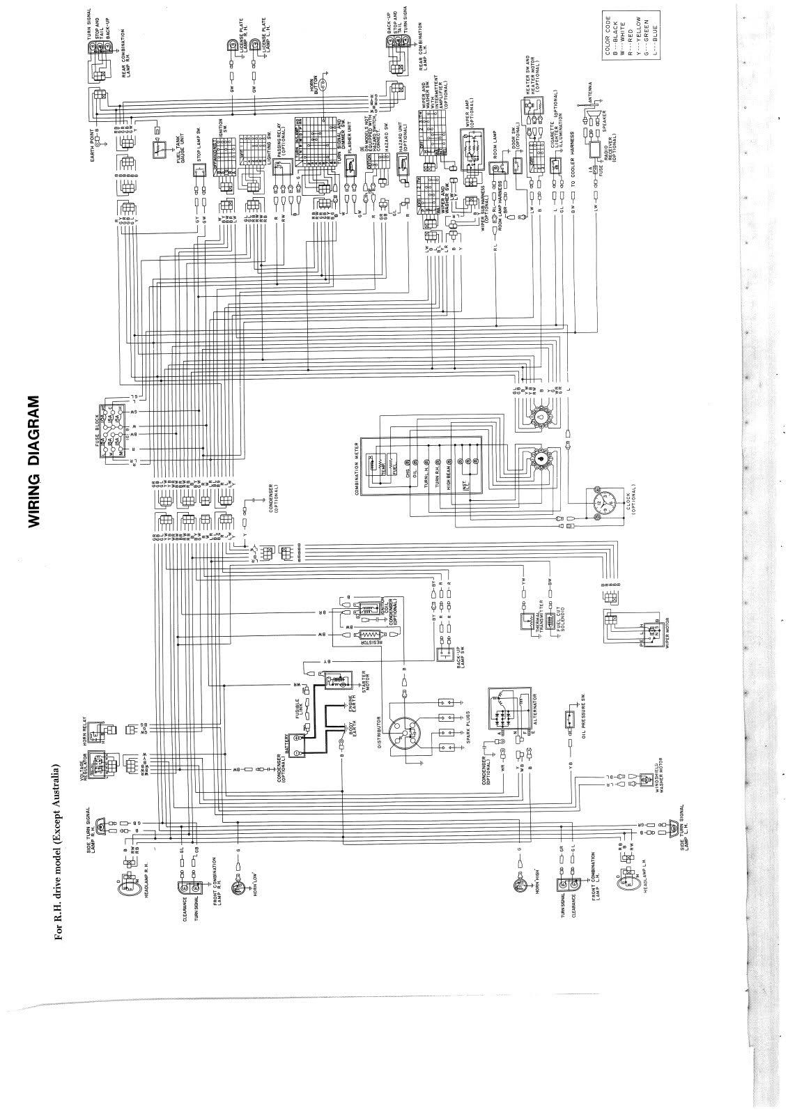 nissan 1400 ignition wiring diagram human bowel for bakkie 6