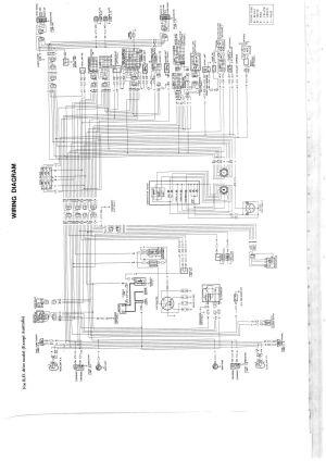 Wiring diagram for nissan 1400 bakkie #6 | nissan
