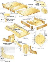 bird table plans blueprints | Bird feeders | Pinterest ...