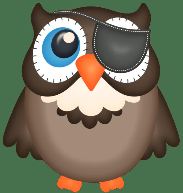 Patiaraujo Boo - Felt- Holidays Easter Halloween Valentines. Owl