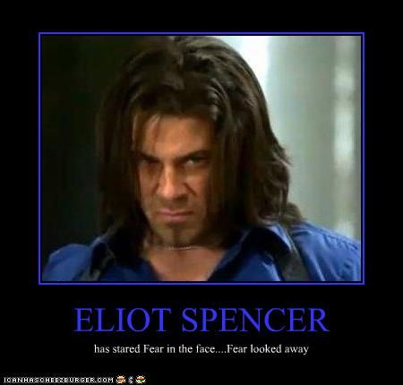 Eliot Spencer  Leverage love this show  Humor