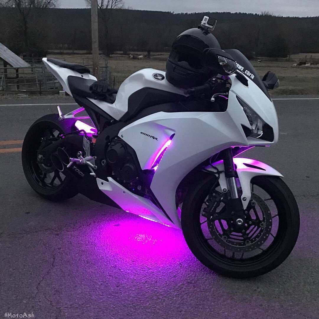 Motorcycle Helmet Led Lights