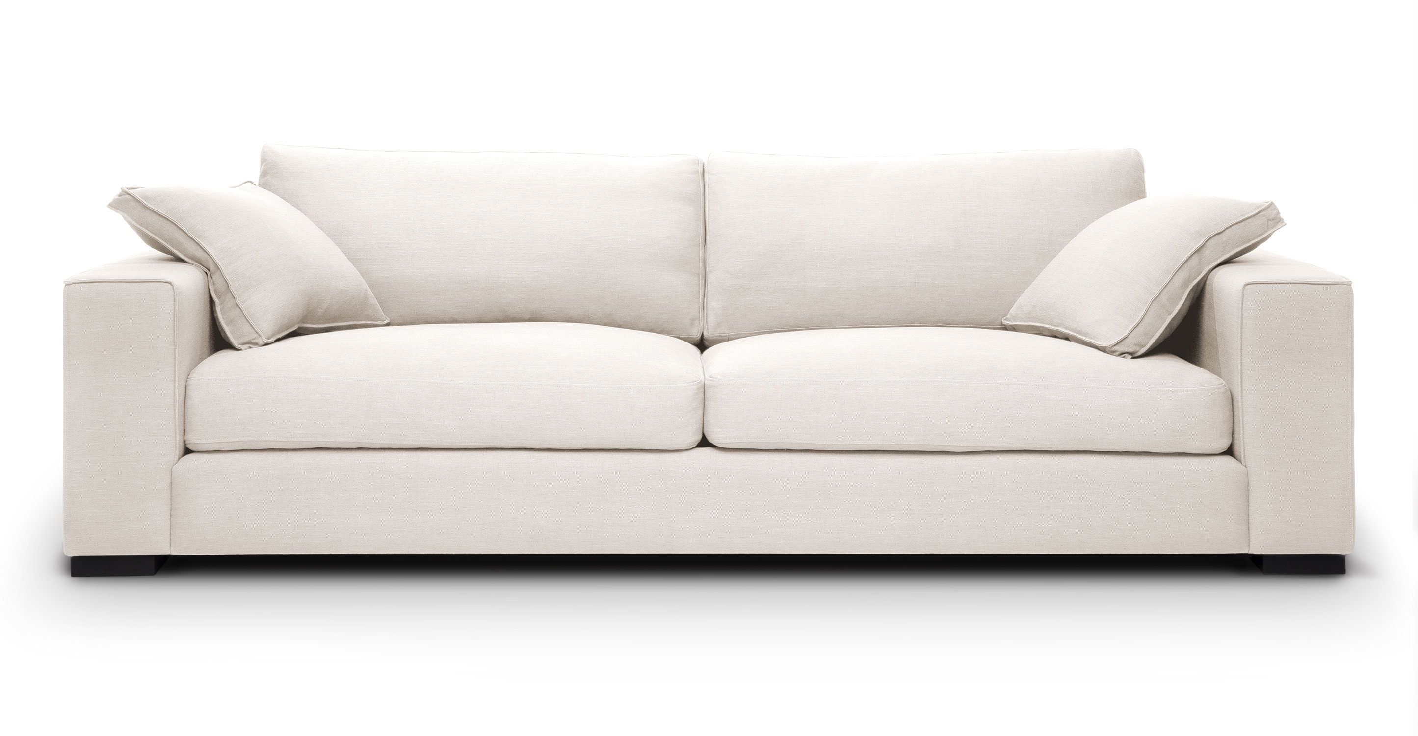 white wood sofa set west elm henry 86 with solid legs article stika modern